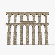 Aquaduct Sectie Greco Roman 3d model