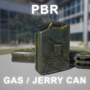 Lata de gás / lata de Jerry 3d model