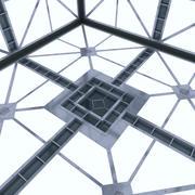Sala de ciencia ficción (Hypercube) modelo 3d