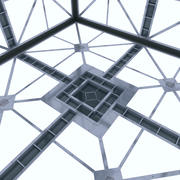 Salle Sci Fi (Hypercube) 3d model