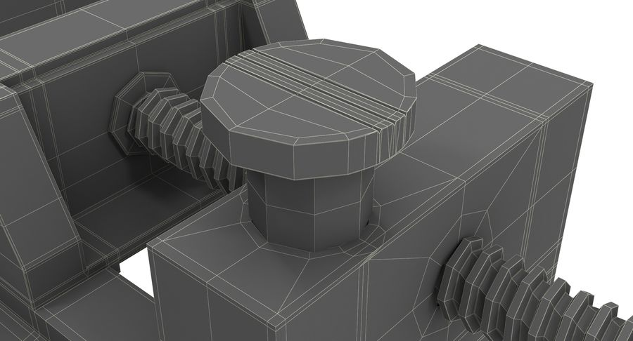 바이스 royalty-free 3d model - Preview no. 21