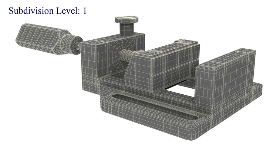 바이스 royalty-free 3d model - Preview no. 16
