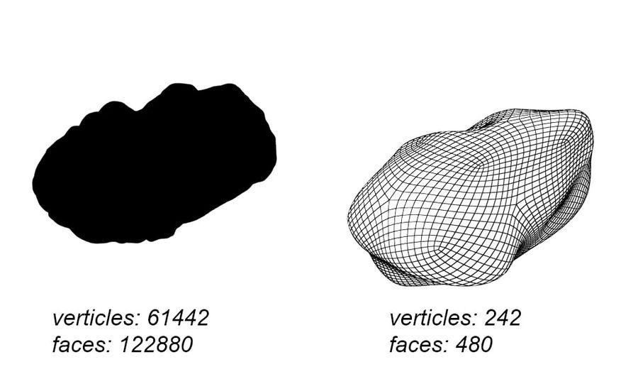 conjunto de meteoros royalty-free modelo 3d - Preview no. 9