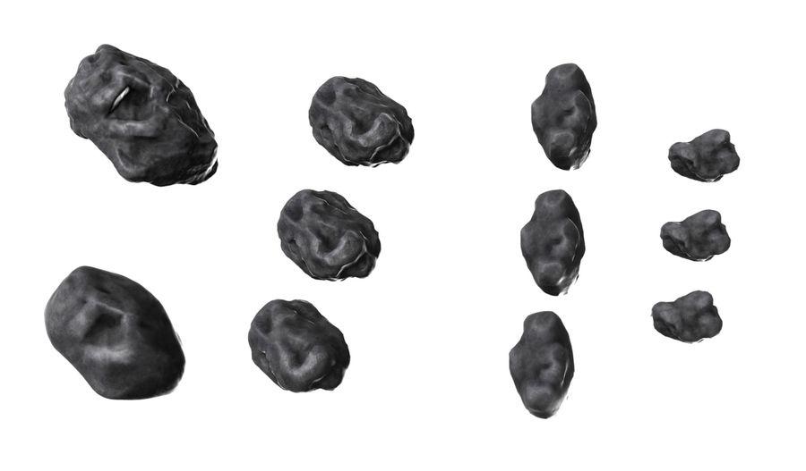 conjunto de meteoros royalty-free modelo 3d - Preview no. 1