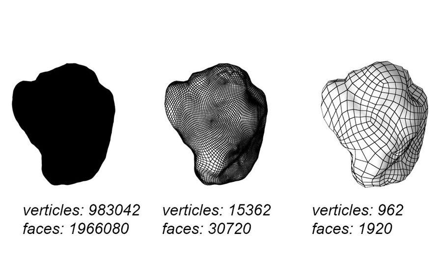 conjunto de meteoros royalty-free modelo 3d - Preview no. 3