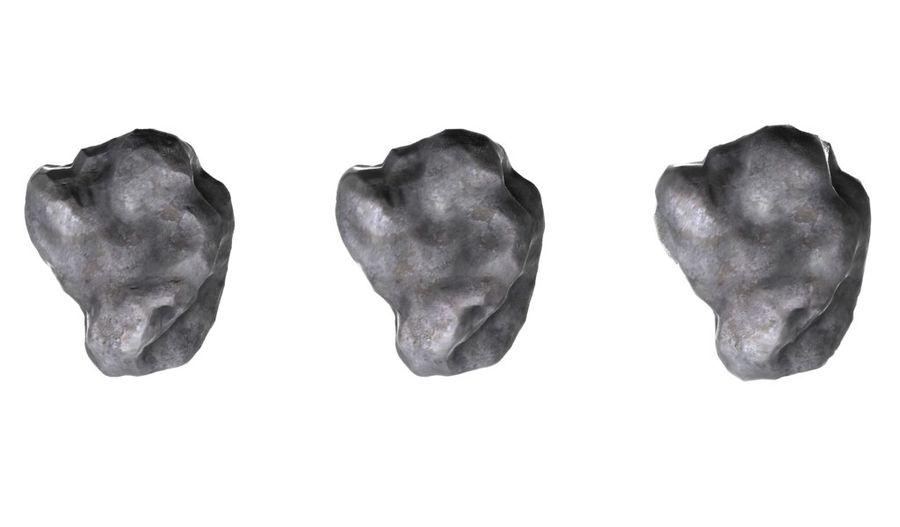 zestaw meteorów royalty-free 3d model - Preview no. 2