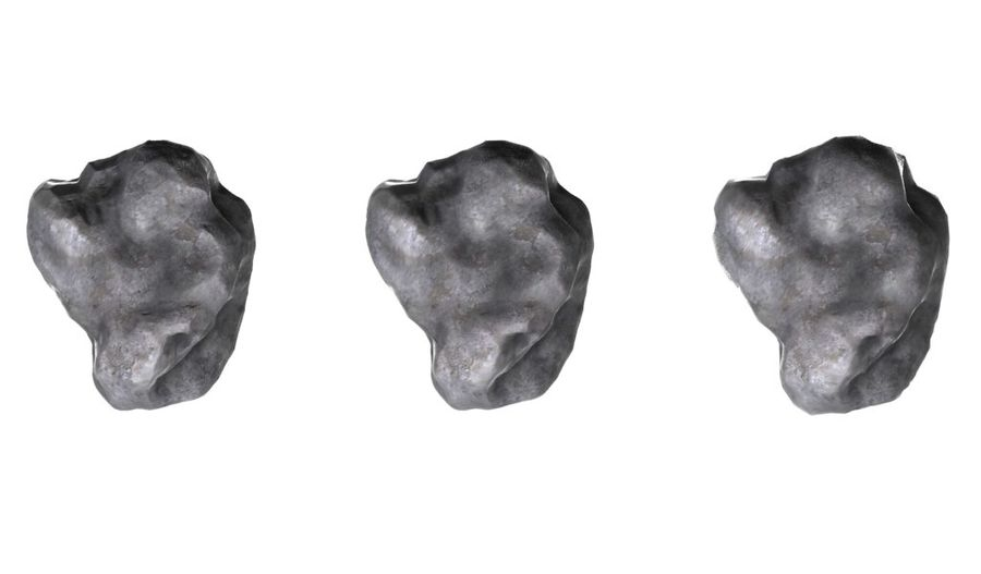 conjunto de meteoros royalty-free modelo 3d - Preview no. 2