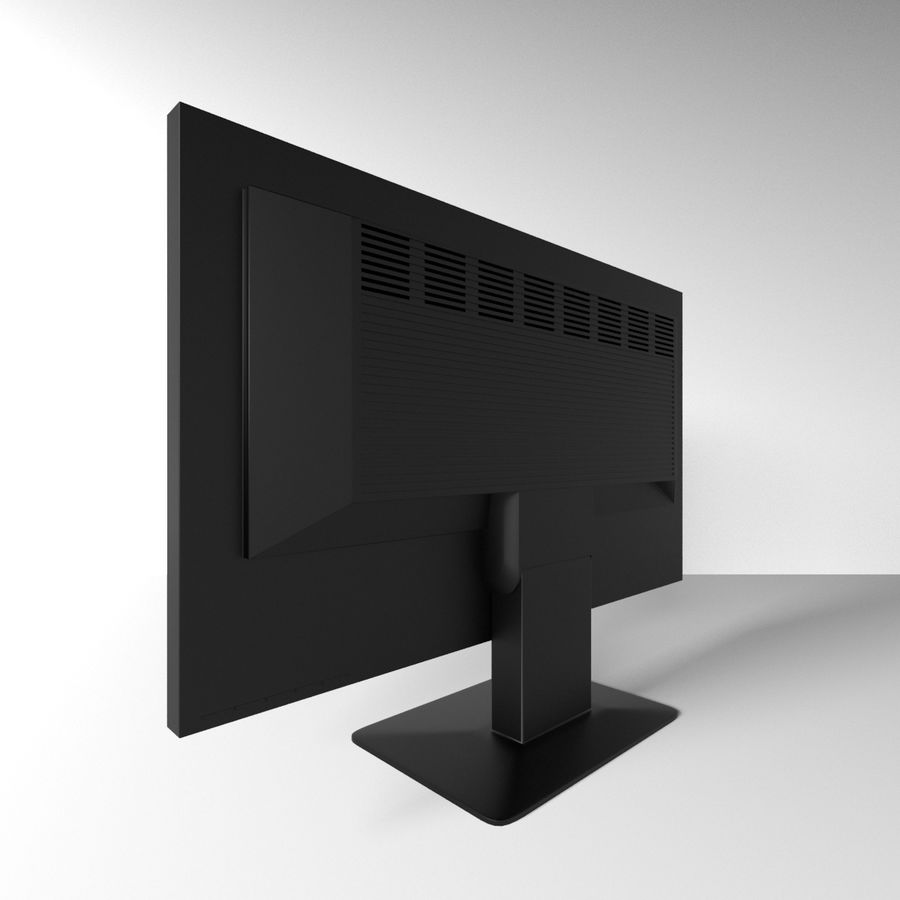 Monitor royalty-free 3d model - Preview no. 2