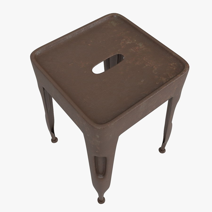 Industrial stool CARGO royalty-free 3d model - Preview no. 5
