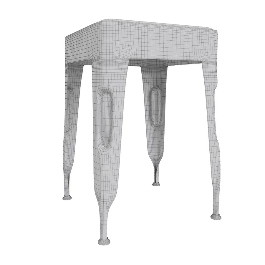Industrial stool CARGO royalty-free 3d model - Preview no. 8