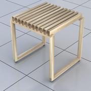 Modern badrumspall 3d model