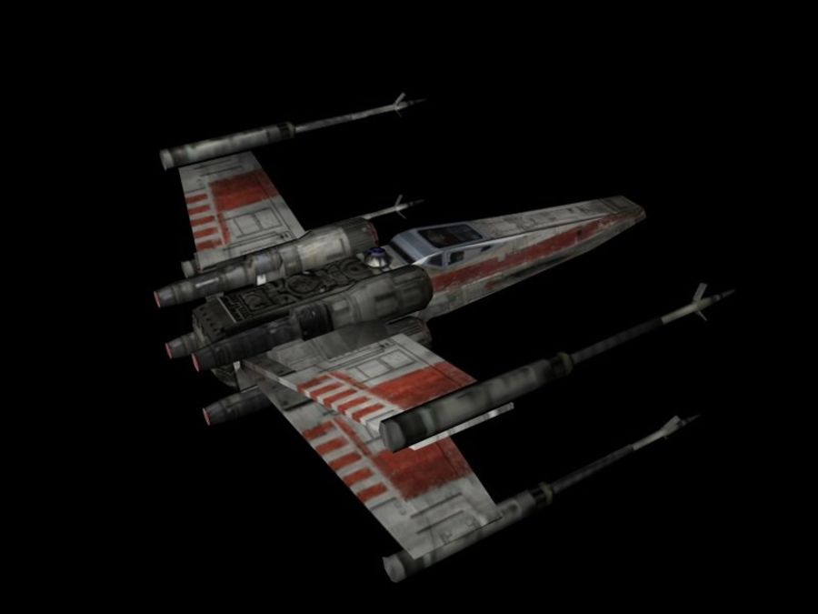 X-Wing royalty-free 3d model - Preview no. 5