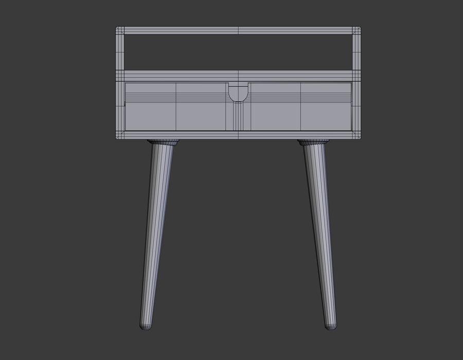 mesilla de noche royalty-free modelo 3d - Preview no. 4