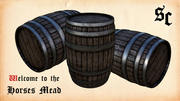 Storage Barrel 3d model