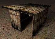 metalen hut 3d model