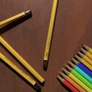 KOH-I-NOOR Pencils (High Poly) 3d model