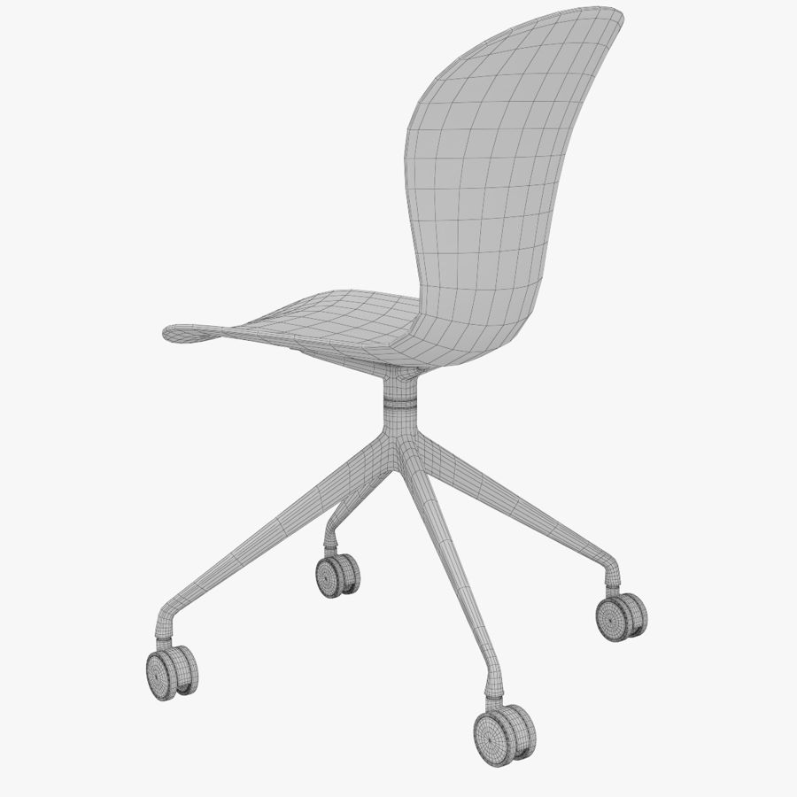 Enjoyable Boconcept Adelaide Chairs 3D Model 6 Unknown Max Obj Machost Co Dining Chair Design Ideas Machostcouk