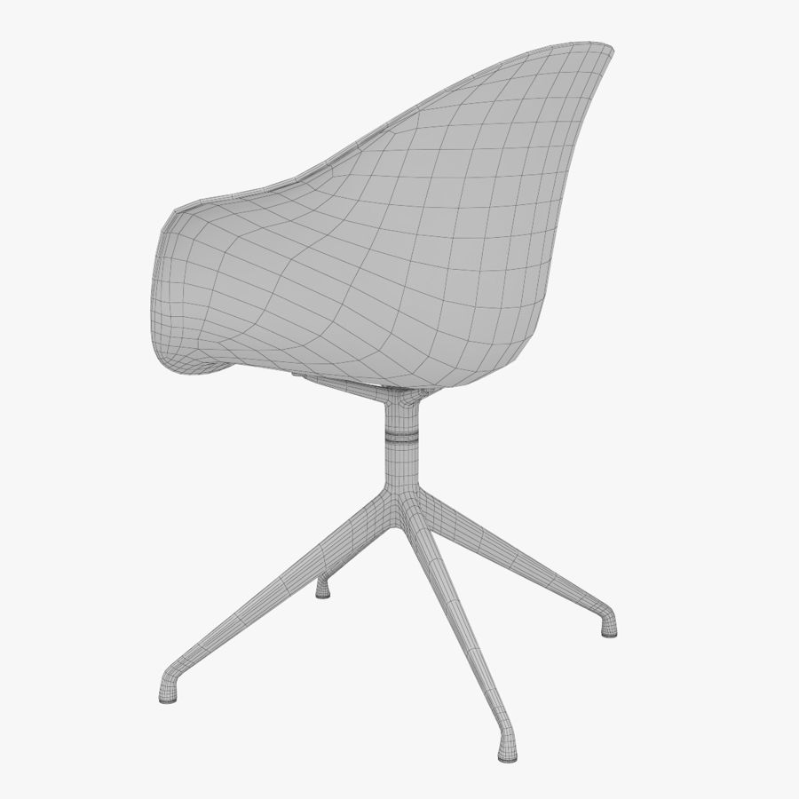 Pleasing Boconcept Adelaide Chair With Arms 3D Model 6 Unknown Machost Co Dining Chair Design Ideas Machostcouk