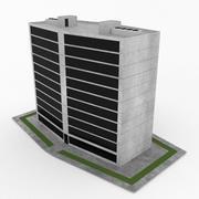 Office Build 09 3d model