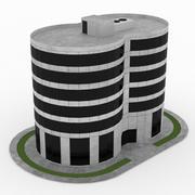 Construção de escritório 12 3d model