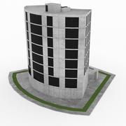 办公大楼16 3d model