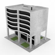 Office Build 01 3d model