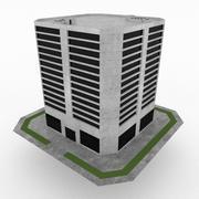 Construção de escritório 22 3d model