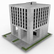 Office Build 30 3d model