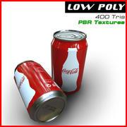 Lata de coca-cola modelo 3d
