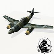 梅塞施密特Me 262 3d model