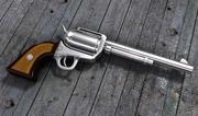 枪柯尔特 3d model