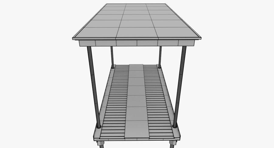 Elevador de carro de luxo royalty-free 3d model - Preview no. 11