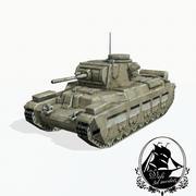 Czołg Matilda 3d model