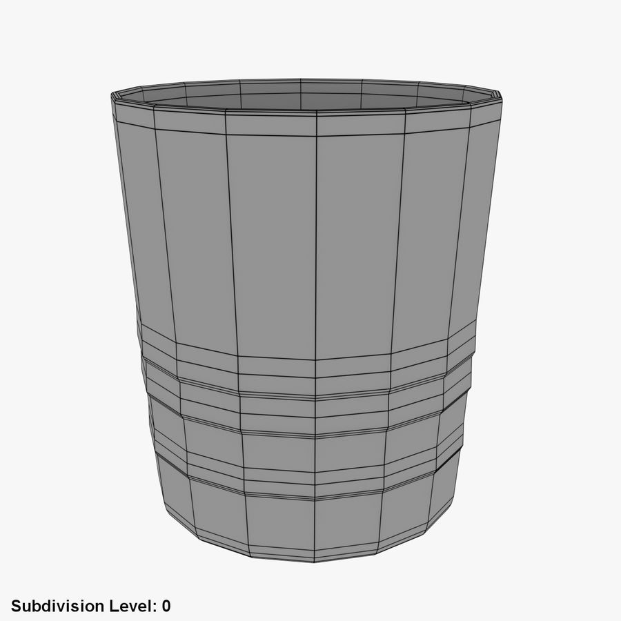Whiskey Glass 04 royalty-free 3d model - Preview no. 4