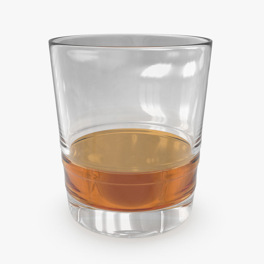 Whiskey Glass 04 royalty-free 3d model - Preview no. 1
