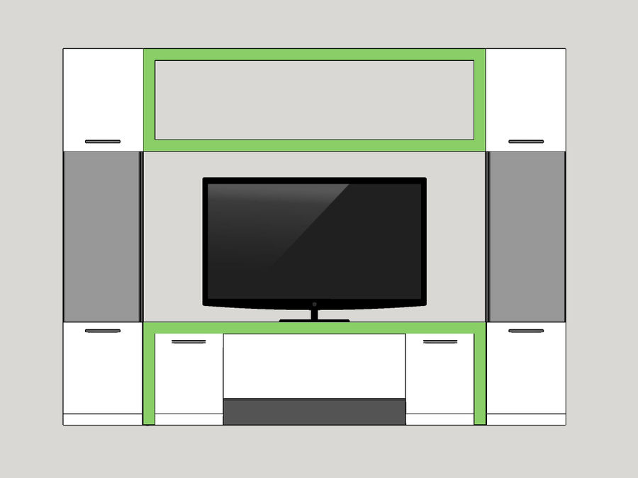 TV-apparat 2 royalty-free 3d model - Preview no. 4
