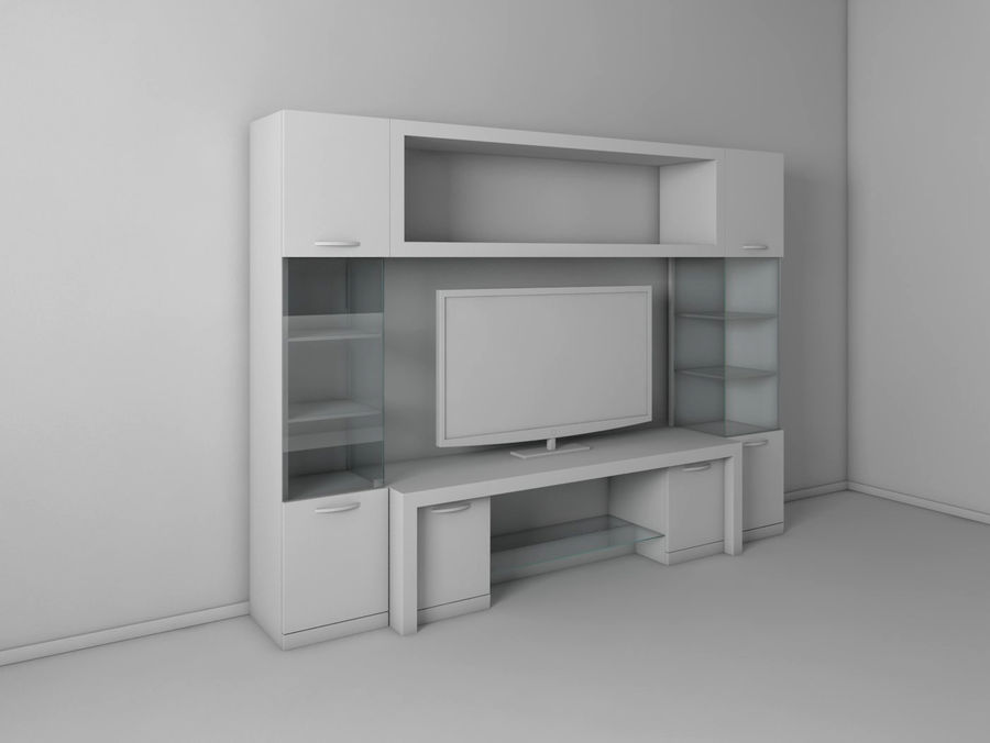 TV-apparat 2 royalty-free 3d model - Preview no. 2
