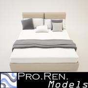 Bed 02 3d model