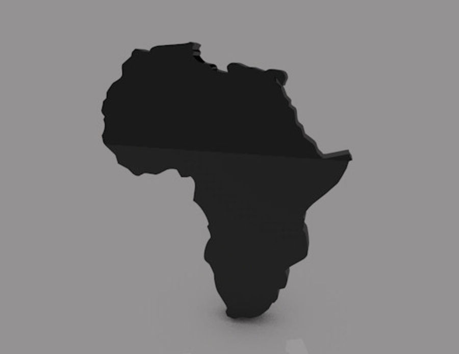 Africa 3D royalty-free 3d model - Preview no. 5