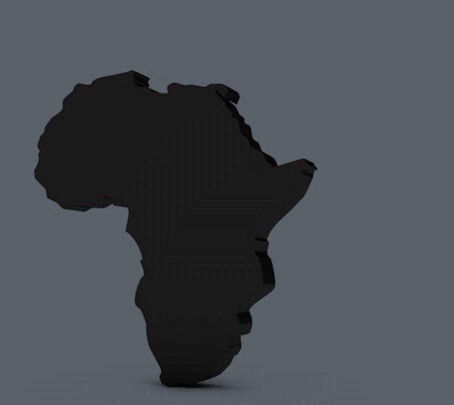 Africa 3D royalty-free 3d model - Preview no. 2