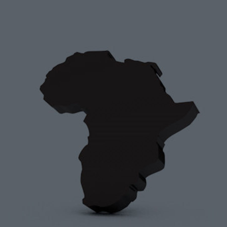 Africa 3D royalty-free 3d model - Preview no. 3