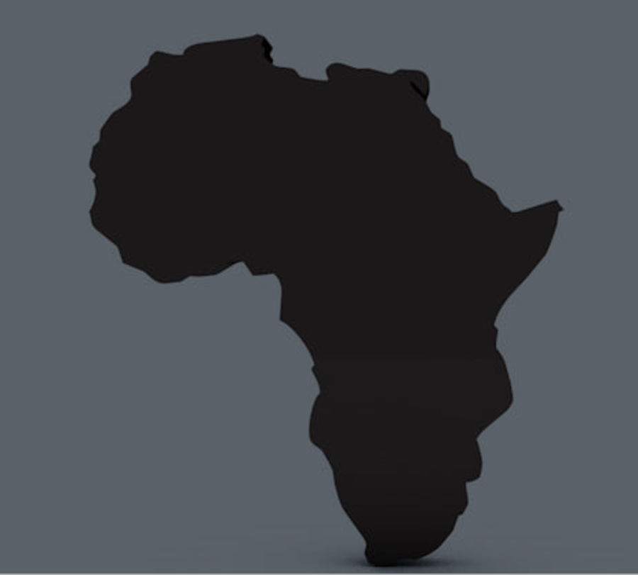 Africa 3D royalty-free 3d model - Preview no. 4