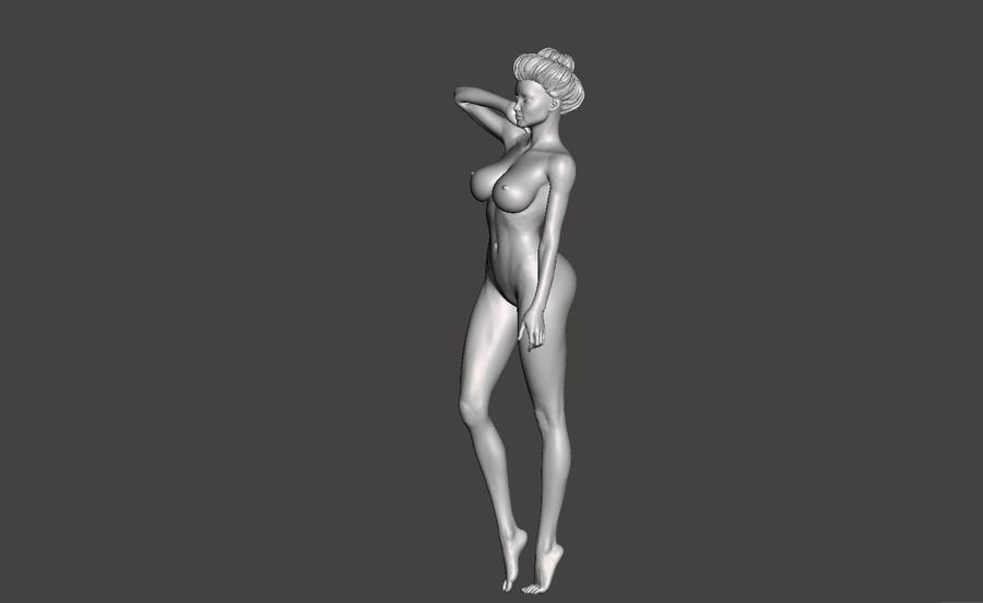 Sexy Lady royalty-free 3d model - Preview no. 4
