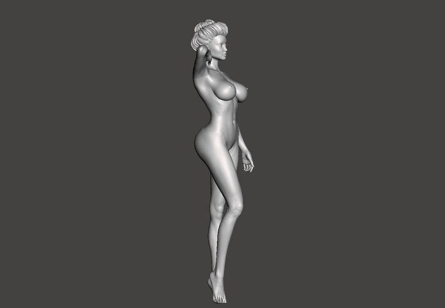 Sexy Lady royalty-free 3d model - Preview no. 5