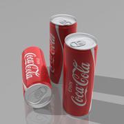 Coca-Cola Can 3d 3d model