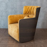Flou_SOFTWING_armchair2 3d model