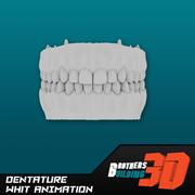 Animación Dentatura modelo 3d