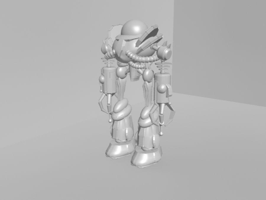 로봇 KF royalty-free 3d model - Preview no. 5