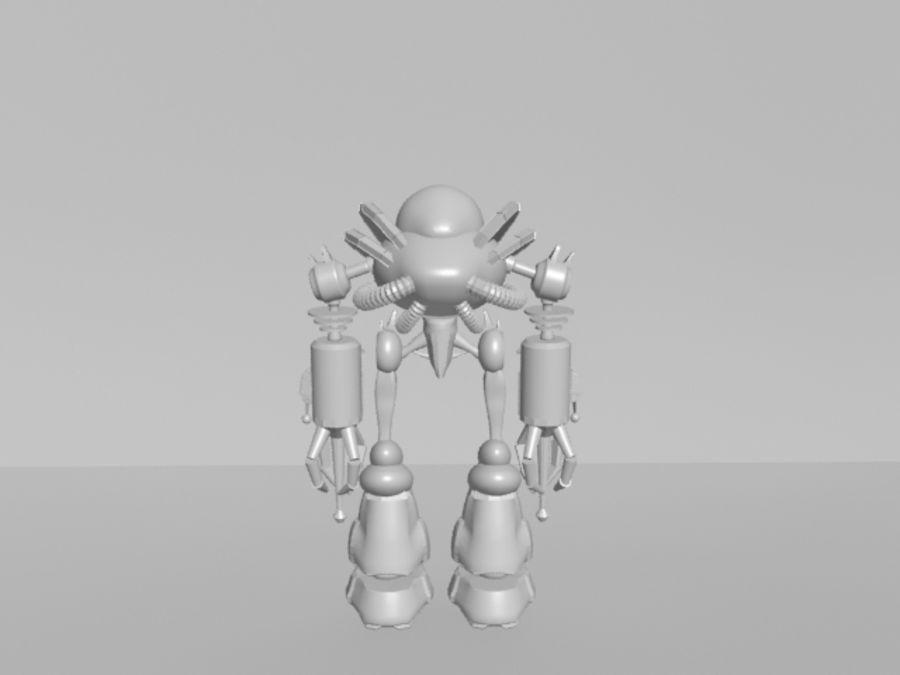 로봇 KF royalty-free 3d model - Preview no. 2