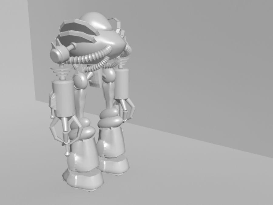 로봇 KF royalty-free 3d model - Preview no. 4